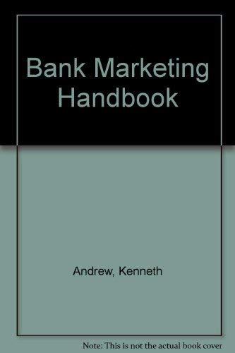 9780859413336: Bank Marketing Handbook
