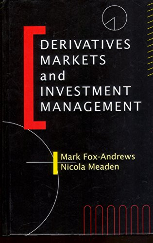 9780859419048: Derivatives Markets and Investment Management