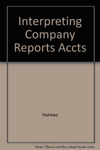 9780859419116: Interpreting Company Reports Accts