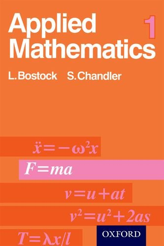 9780859500197: Applied Mathematics: v. 1