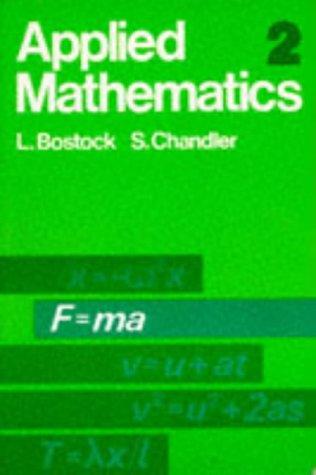 9780859500241: Applied Mathematics: v. 2