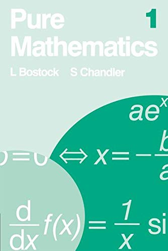 9780859500920: Pure Mathematics 1: v. 1