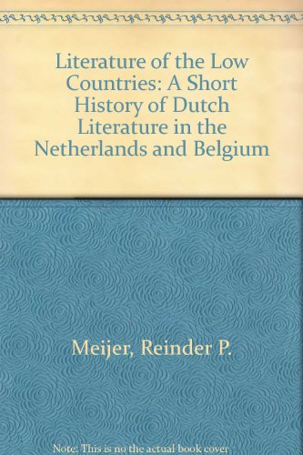 9780859500944: Literature of the Low Countries