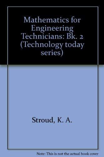 9780859500982: Mathematics for Engineering Technicians: Bk. 2