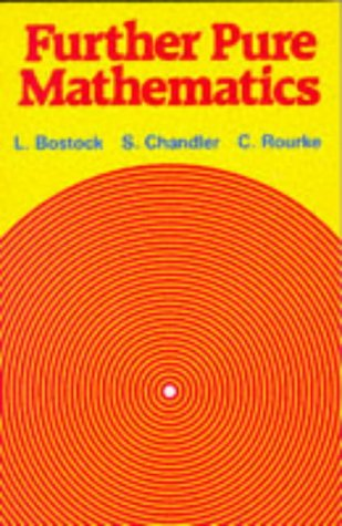 9780859501033: Further Pure Mathematics