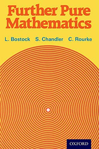 9780859501033: Further Pure Mathematics