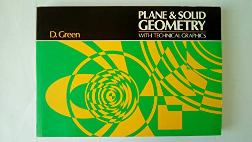 9780859501361: Plane and Solid Geometry with Technical Graphics