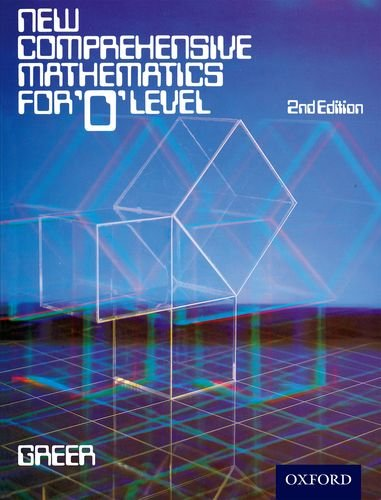 9780859501590: New Comprehensive Mathematics for 'O' Level 2nd Edition