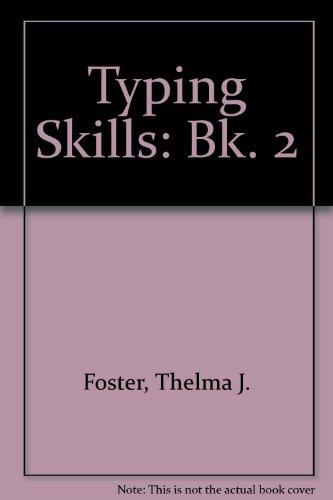 9780859501606: Typing Skills: Bk. 2