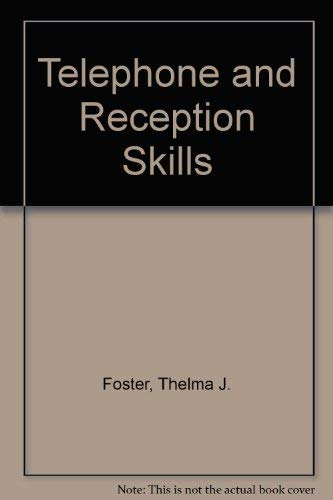 9780859502238: Telephone and Reception Skills