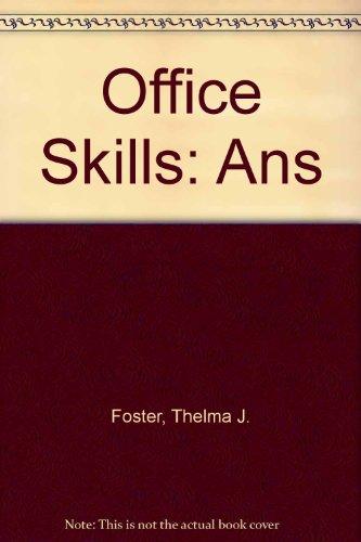 9780859503839: Office Skills: Ans