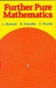 9780859505192: Further Pure Mathematics