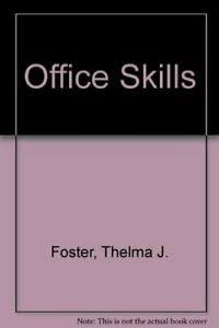 9780859507561: Office Skills