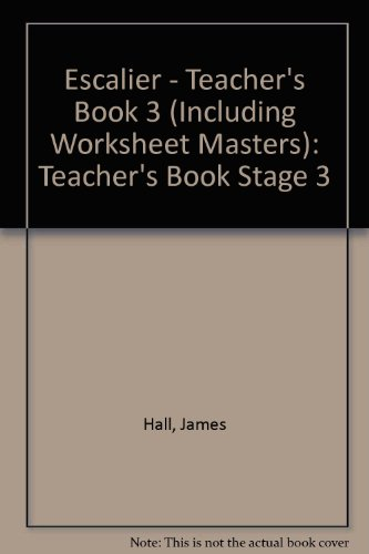 9780859509039: Escalier: Teacher's Book Stage 3 (English and French Edition)
