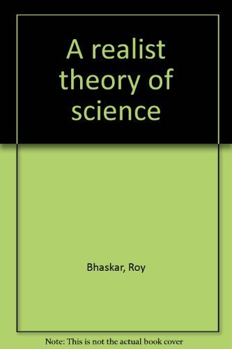 9780859520133: A realist theory of science