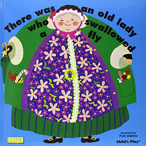9780859530217: There Was an Old Lady Who Swallowed a Fly (Books with Holes (Hardcover))