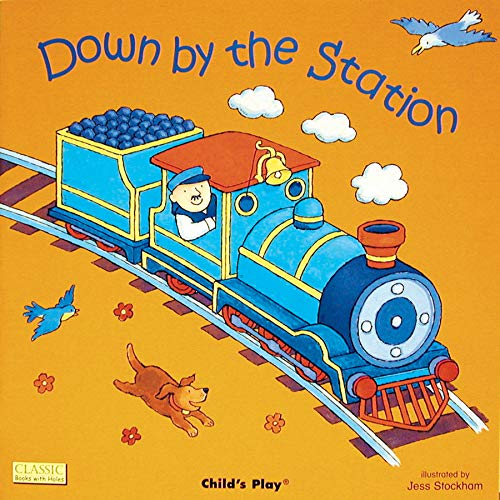 9780859531405: Down By the Station (Die Cut Reading)