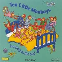 9780859534505: Ten Little Monkeys Jumping on the Bed (Classic Books with Holes Giant Board Book)