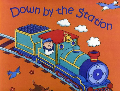 9780859534574: Down by the Station-Board (Classic Books With Holes)