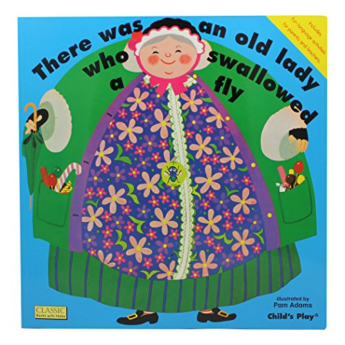 9780859536356: There Was An Old Lady Who Swallowed A Fly (Classic Books with Holes Big Book)