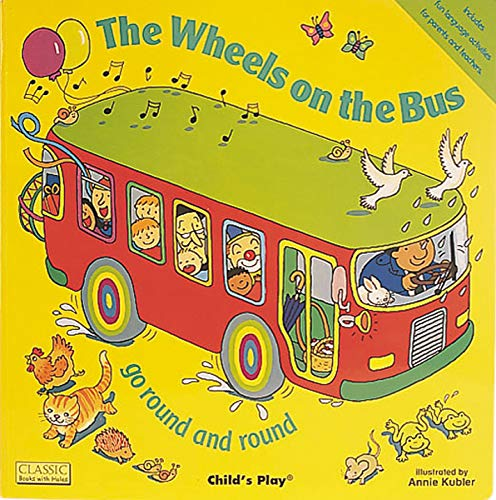 9780859538954: The Wheels on the Bus go Round and Round (Classic Books with Holes)