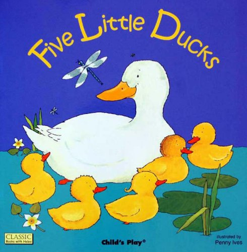 9780859539357: Five Little Ducks (Classic Books with Holes Soft Cover)