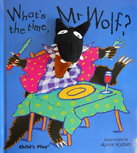 9780859539449: What's the Time, Mr Wolf? (Finger Puppet Books)