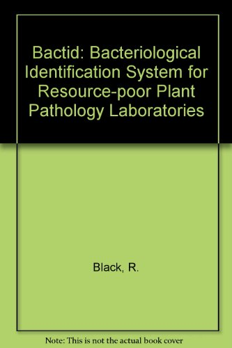 9780859544382: Bactid: Bacteriological Identification System for Resource-poor Plant Pathology Laboratories