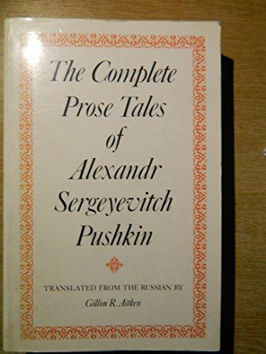9780859550635: Complete Prose Tales of Alexandr Sergeyevitch Pushkin
