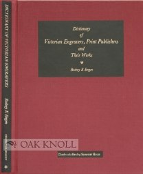9780859640541: Dictionary of Victorian engravers, print publishers and their works