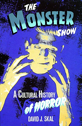 9780859652117: Monster Show: A Cultural History of Horror