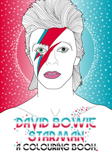 David Bowie: Starman: A Coloring Book: Coulman, Laura