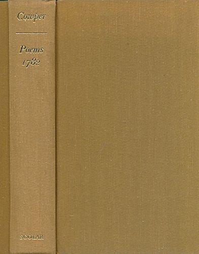 Poems. William Cowper 1782.: William Cowper
