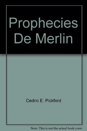 9780859671965: Prophecies De Merlin