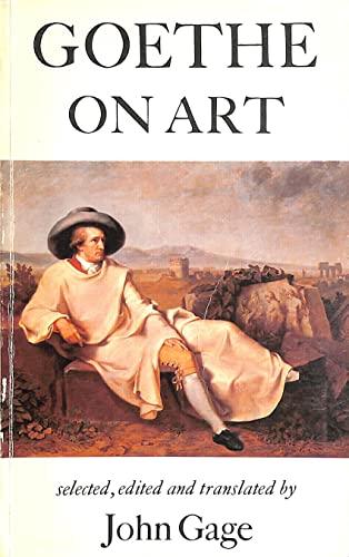 9780859674959: Goethe on Art
