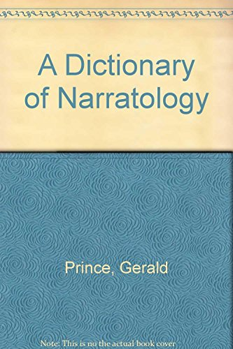 9780859677493: A Dictionary of Narratology