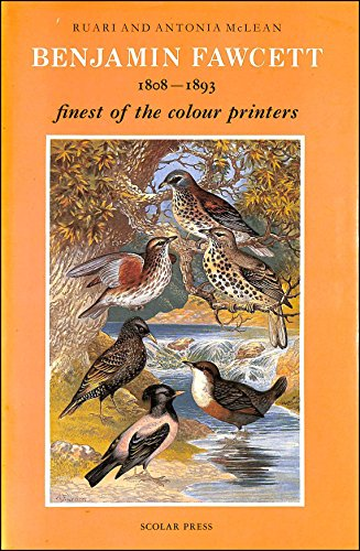 BENJAMIN FAWCETT Engraver and Colour Printer [1808-1893, Finest of the Colour Printers]