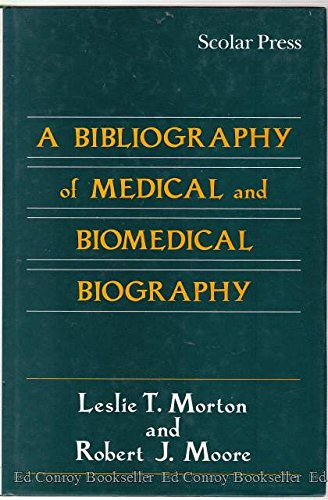 9780859677974: A Bibliography of Medical and Biomedical Biography