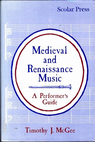 9780859678339: Medieval and Renaissance Music: A Performer's Guide