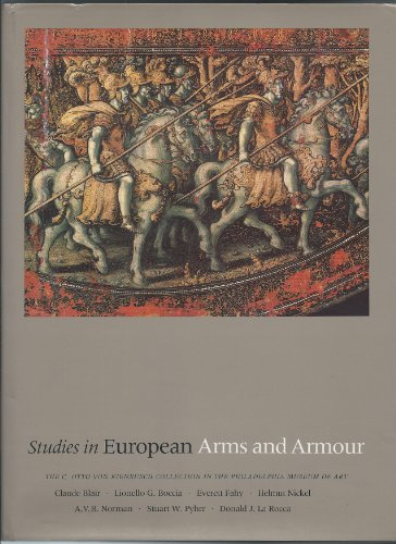 9780859678926: Studies in European Arms and Armour