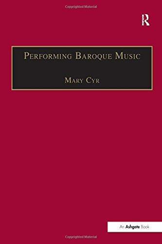 9780859679602: Performing Baroque Music