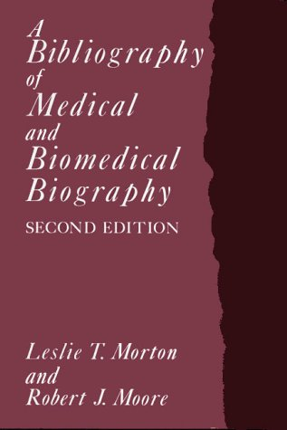 9780859679817: A Bibliography of Medical and Biomedical Biography