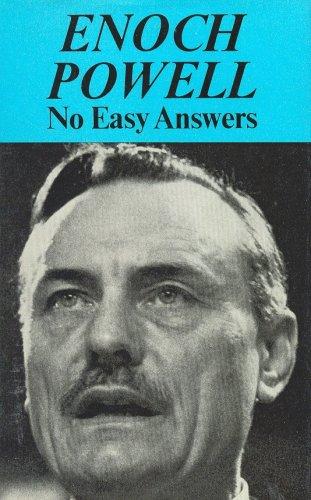 9780859690010: No Easy Answers