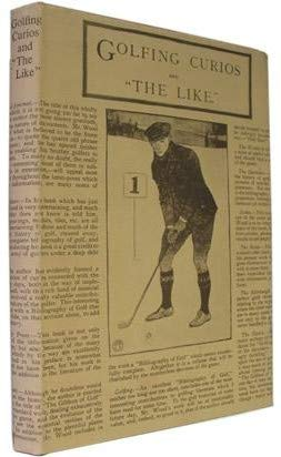GOLFING CURIOS AND THE LIKE: Harry B WOOD