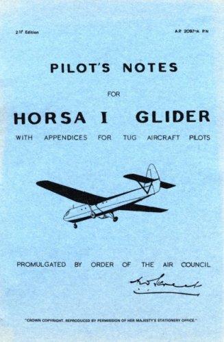 9780859790024: Pilot's Notes for Horsa I Glider: Air Speed Horsa I Glider