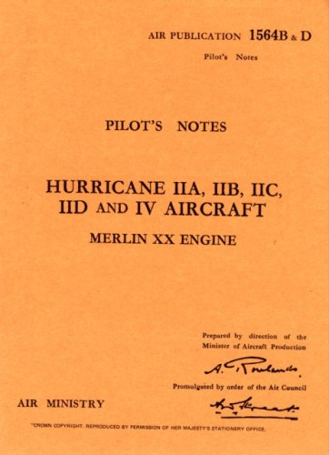 9780859790321: Hawker Hurricane II - Pilot's Notes (Pilot's Notes Collection)