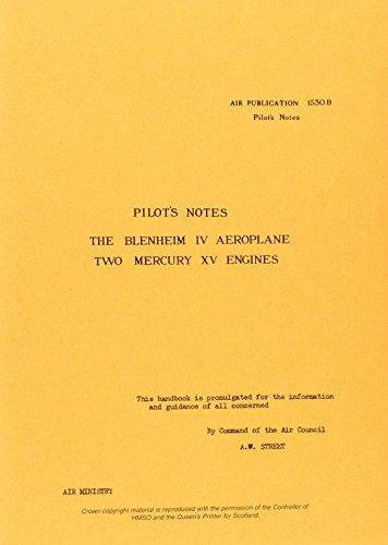 9780859791298: Air Ministry Pilot's Notes: Bristol Blenheim Mk IV