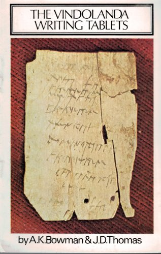 The Vindolanda Writing Tablets