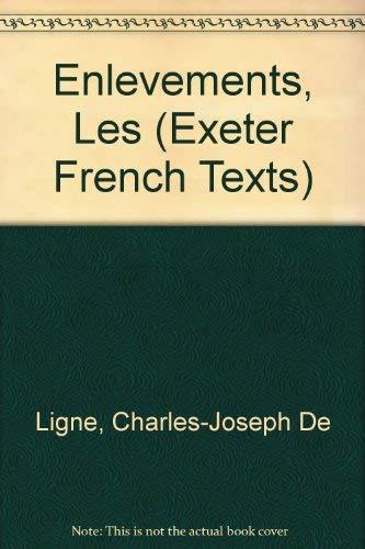 Les Enlevements. Ed. Basil Guy.: de Ligne, C J