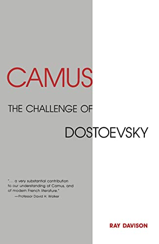 9780859895316: Camus: The Challenge of Dostoevsky